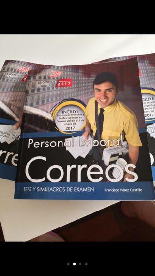 TEMARIO OPOSICIÓN CORREOS