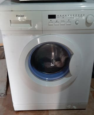 lavadora haier