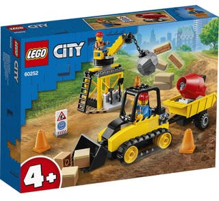 Lego City buldocer de construcción. Nuevo