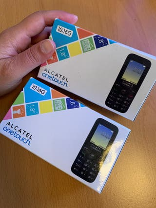 2 uds. Alcatel One Touch