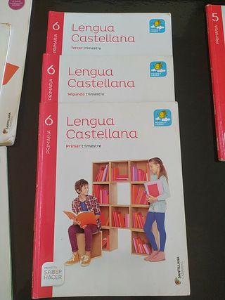 libro de lengua castellana 6 de primaria