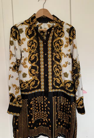 Vestido camisero Zara Woman