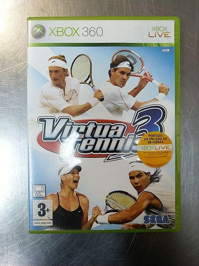 Virtua Tennis 3, XBOX 360