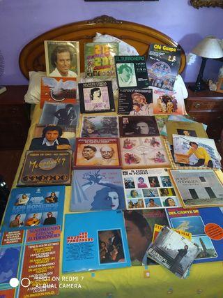 lote discos vinilos flamenco