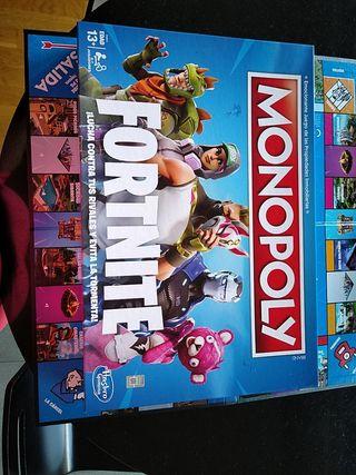 Juego de mesa Monopoly FORTNITE