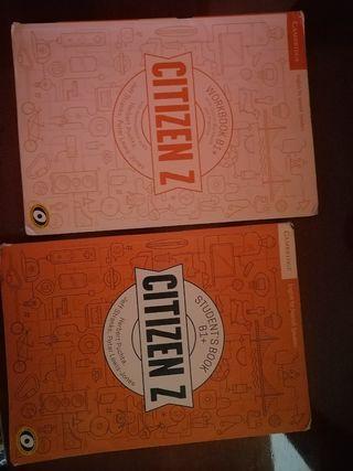 Libro de inglés CITIZEN Z B1+ 2 ESO