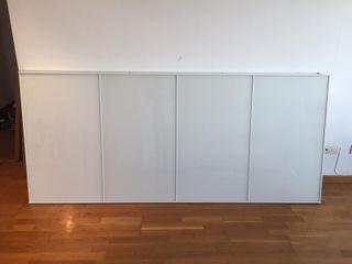 Puertas de cristal armario ikea