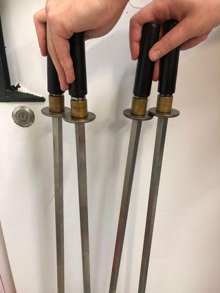 Espada para asador de pollos MCM
