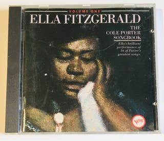 ELLA FITZGERALD The Cole Porter Songbook Disco Cd