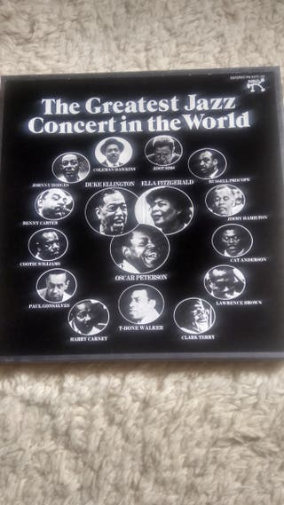 Àlbum The Greatest Jazz Concert in the World