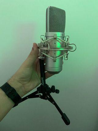 Micrófono condensador usb