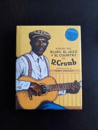 libro Héroes del Blues, Jazz y Country (español)