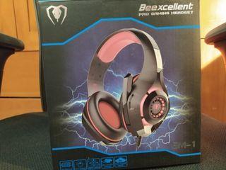 Cascos Gaming Alámbricos Beexcellent PLAY/XBOX/PC