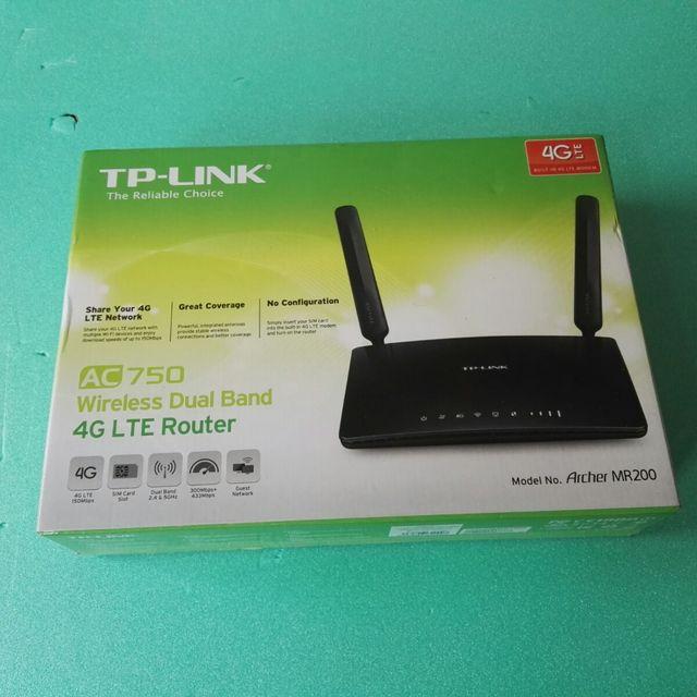 Router inalámbrico - Tp-link Archer Mr200, Dual Ba