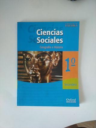 libro ciencias sociales 1° eso oxford