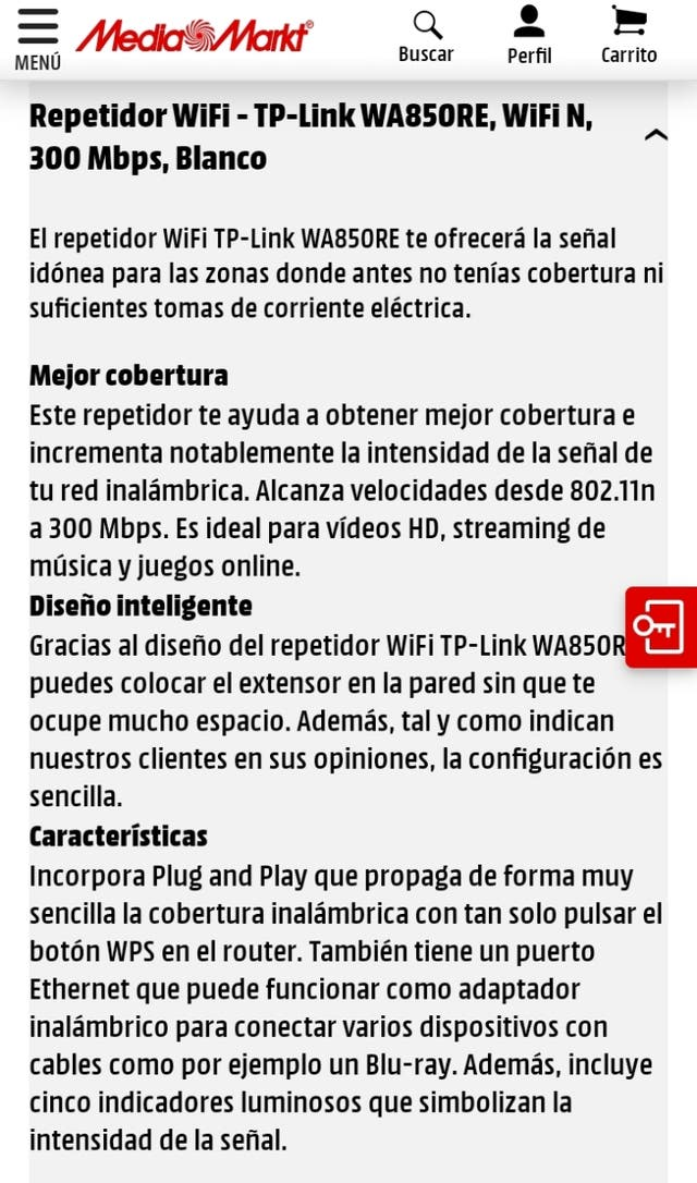Repetidor Wi-Fi TP-LINK