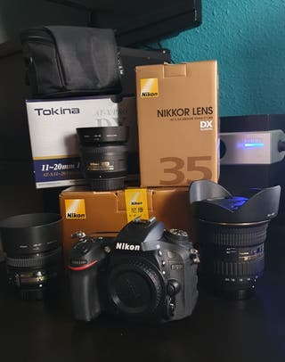 Nikon D7200 + Objetivos