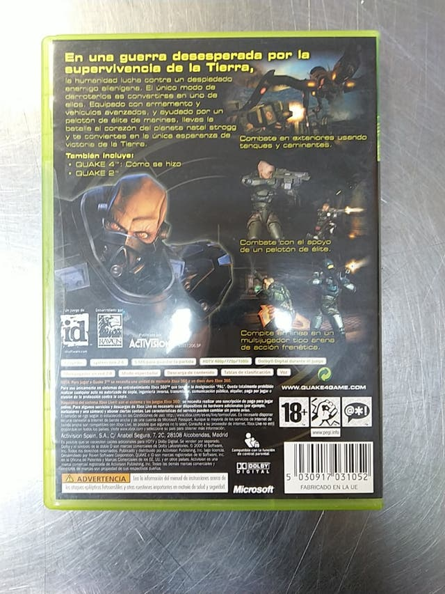 Quake 4, Xbox 360