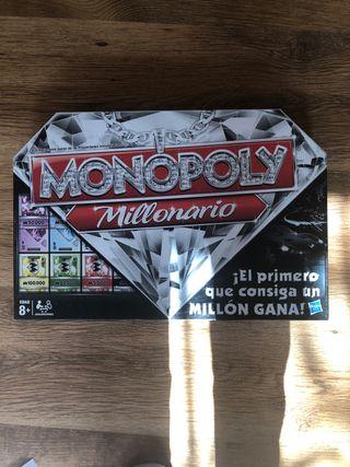 MONOPOLY MILLONARIO CASI NUEVO