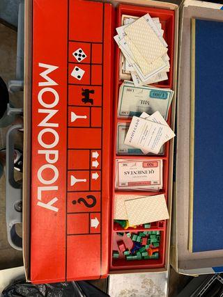Monopoly antiguo pesetas