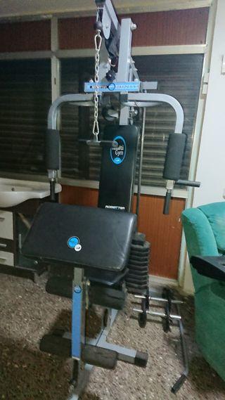 máquina musculacion