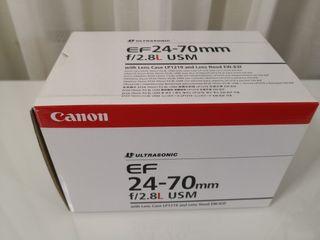 Objetivo Canon EF 24-70mm 2.8L USM