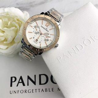 Reloj Pandora para mujer con pulsera de plata