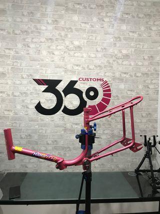 Cuadro bicicleta! bh happy