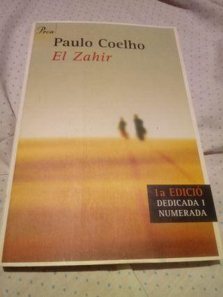 Llibre dedicat Paulo Coelho ' el Zahir '