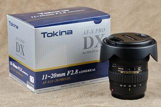 Objetivo Tokina 11-20 (montura Canon)