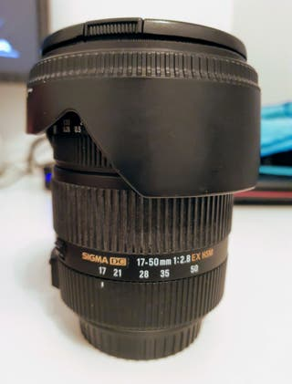 Sigma DC OS 17-50 f/2.8 EX HSM (Canon)