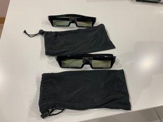 Gafas 3D para proyector dlp