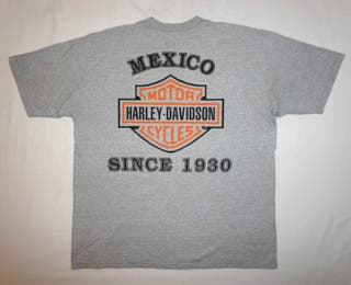 Camiseta Vintage Harley Davidson México 1930 L XL