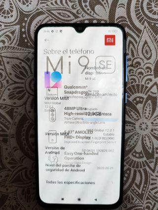 Xiaomi mi 9SE, Ocean Blue 6gb RAM 128 ROM