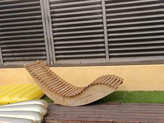 Tumbonas diseño cómodíssimas madera