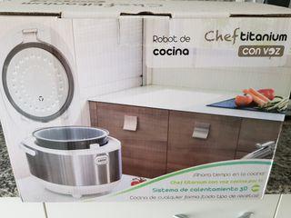 Robot de cocina Chef Titanium.