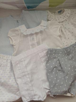 Tres conjuntos bebé niño 18-24 meses marca Popys
