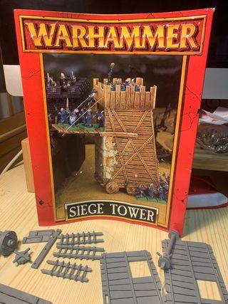 Siege tower warhammer display
