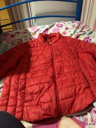 Chaqueta chaquetón rojo acorchado