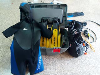 Pack buceo