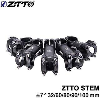 Potencia para bicicleta 60mm, tubo de soporte lige