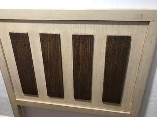 Cabecero de madera cama de 90 cm