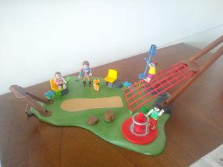Parque infantil Playmobil.