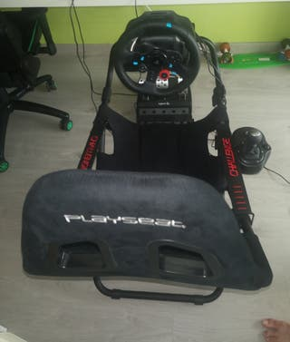 Playseat challenger + logitech G29.+ pomo