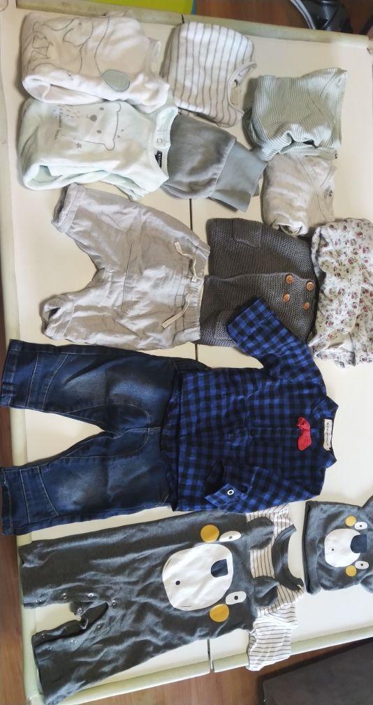 lote ropa otoño invierno bebé 1-3 m y 3-6 meses