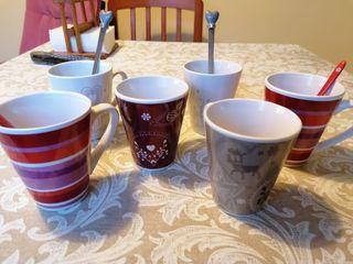 Coleccion tazas cerámica