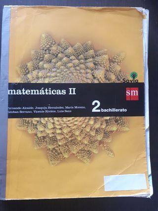 Matemáticas II. 2 Bachillerato.