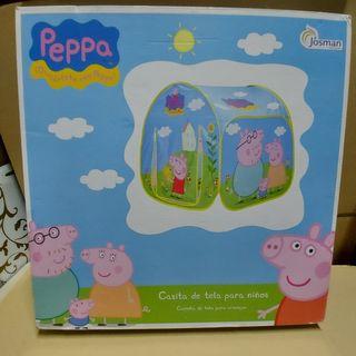 Casita tela Peppa Pig