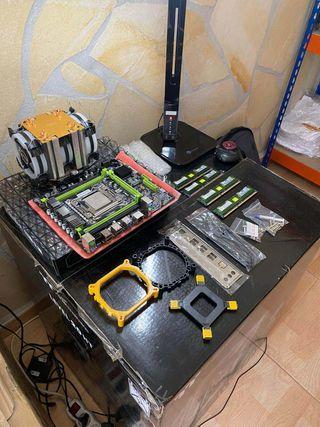 E5-2620 V2 - 16 GB RAM - Placa Mini ATX - Radiador