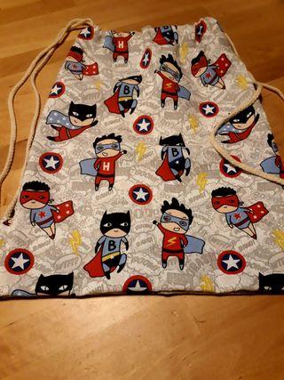 Mochila cole niños superman